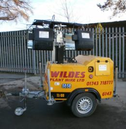 Floodlight Sets for hire